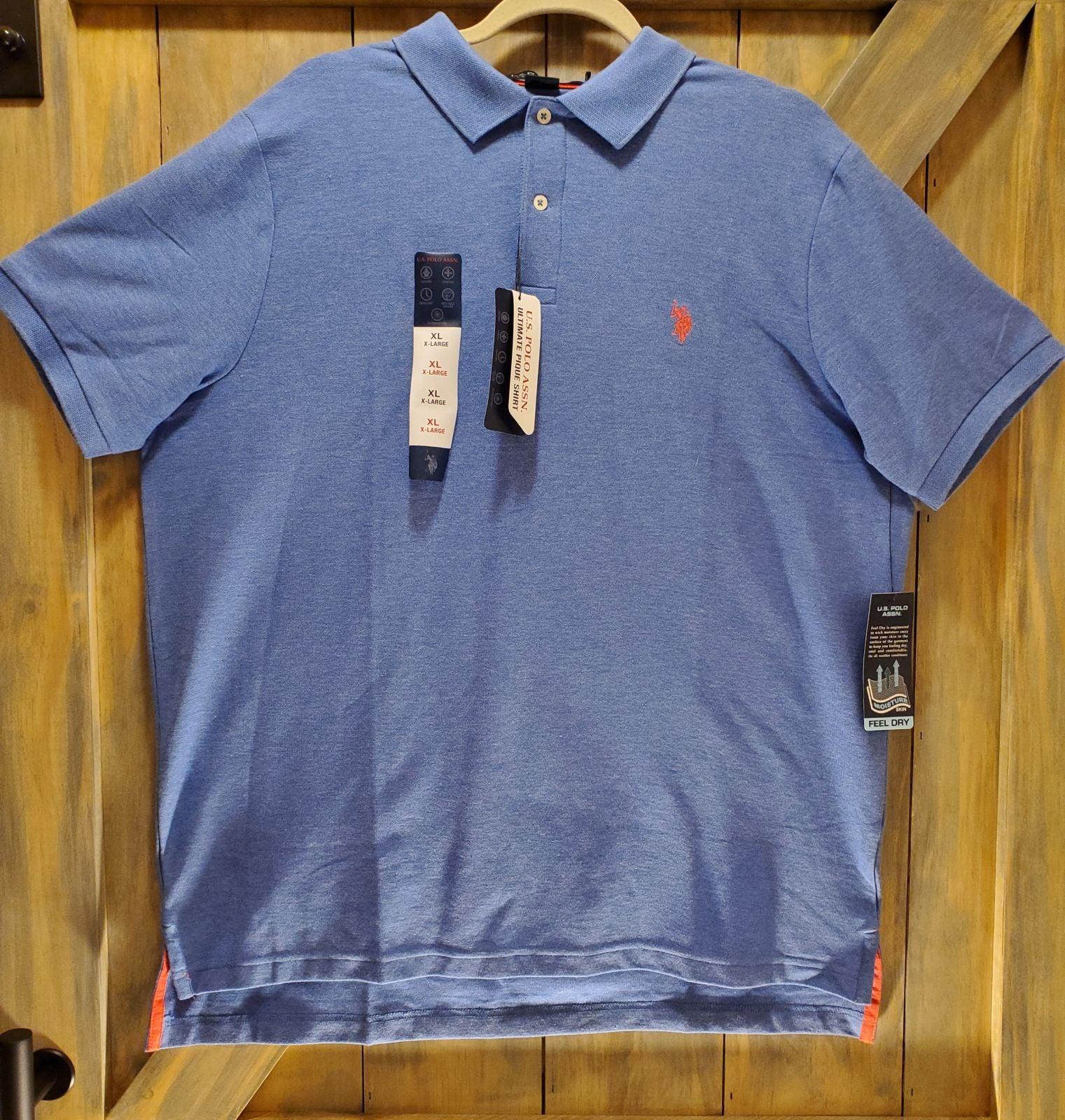 NWT U.S. Polo Assn. Mens Polo Shirt SzXL