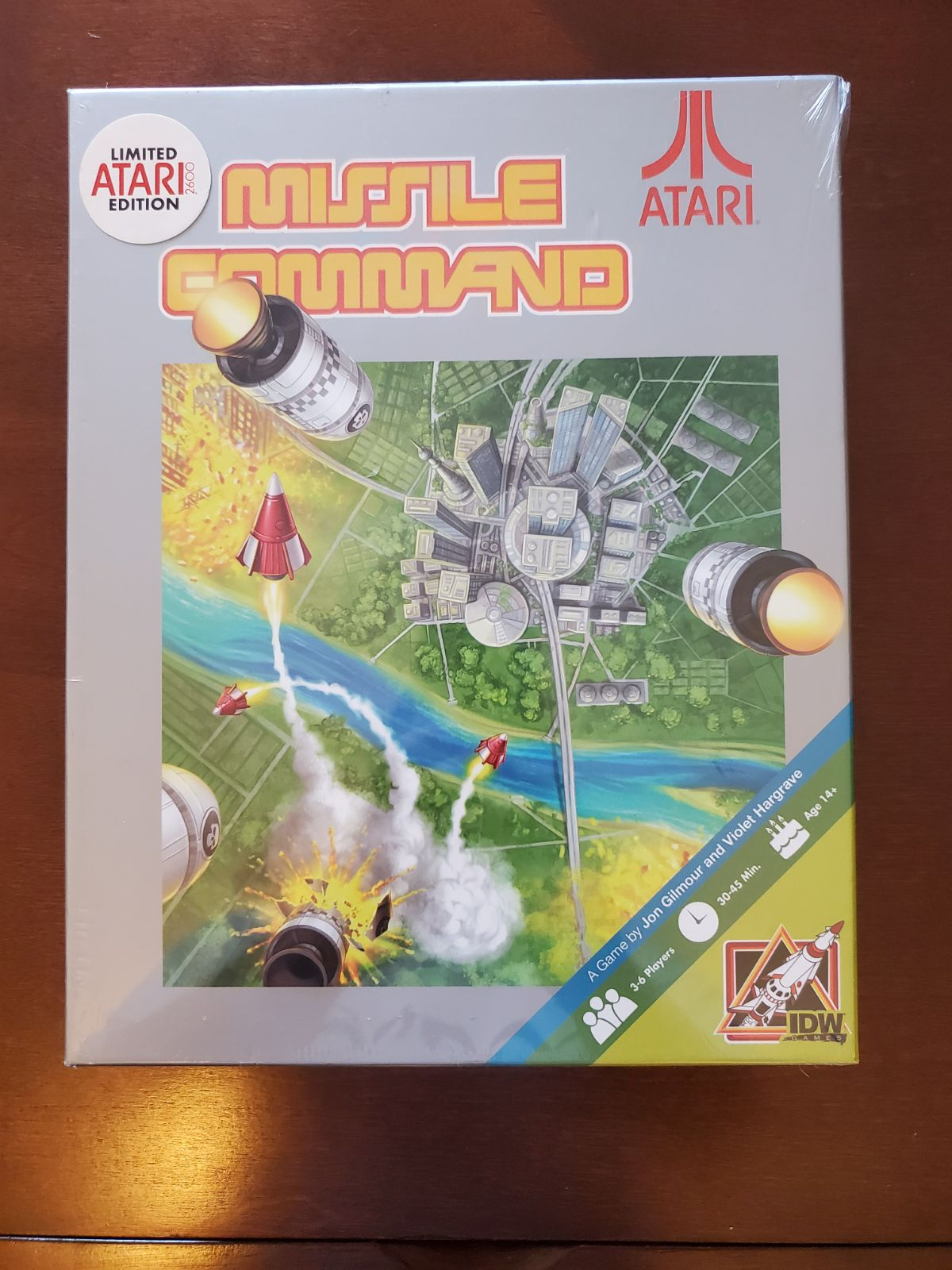 Missile Command Board Game  SEALED