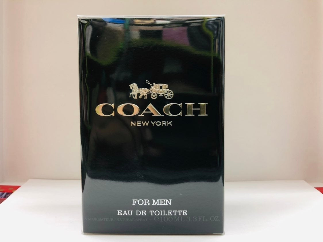 Coach New York EDT For Men 3.3 oz