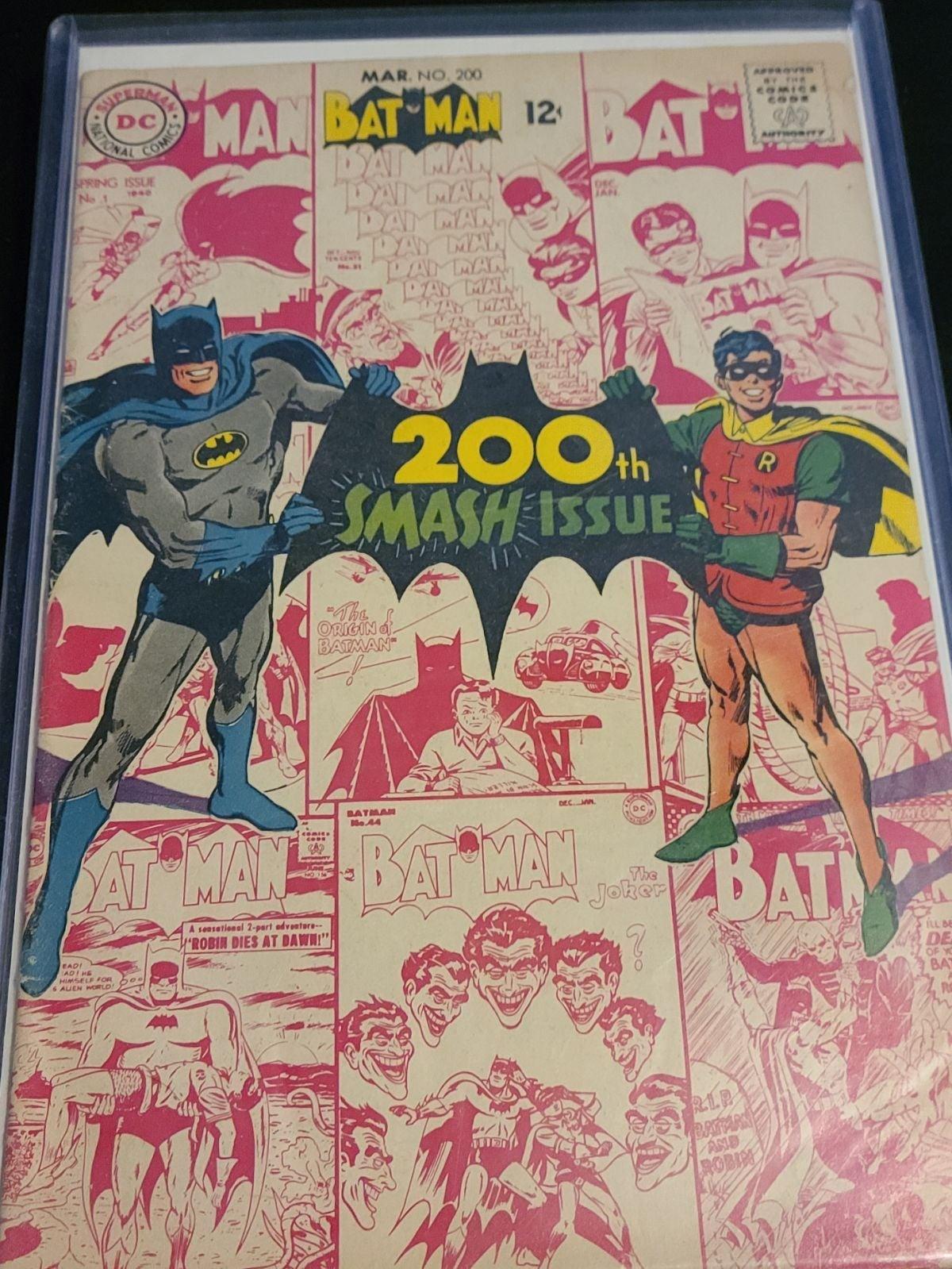 Batman issue #200 SMASH! Edition