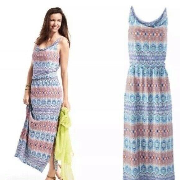 CAbi maxi dress cotton modal small