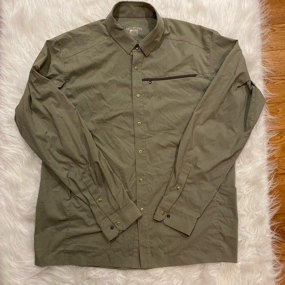 ARCTERYX Long Sleeve shirt Men's size Large