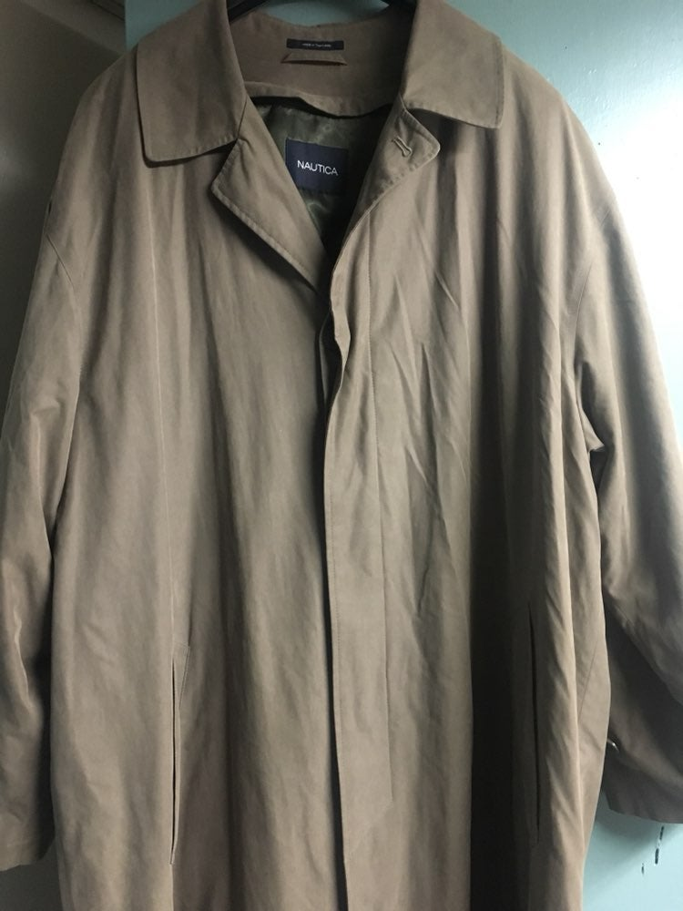 Men's Size 48R Trench Coat