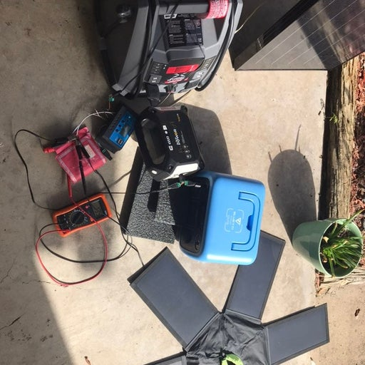 3 portable 755W solar power stations+pan