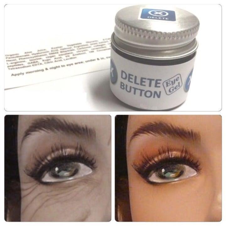 Delete Button Eye Gel Dark Circles Puffy