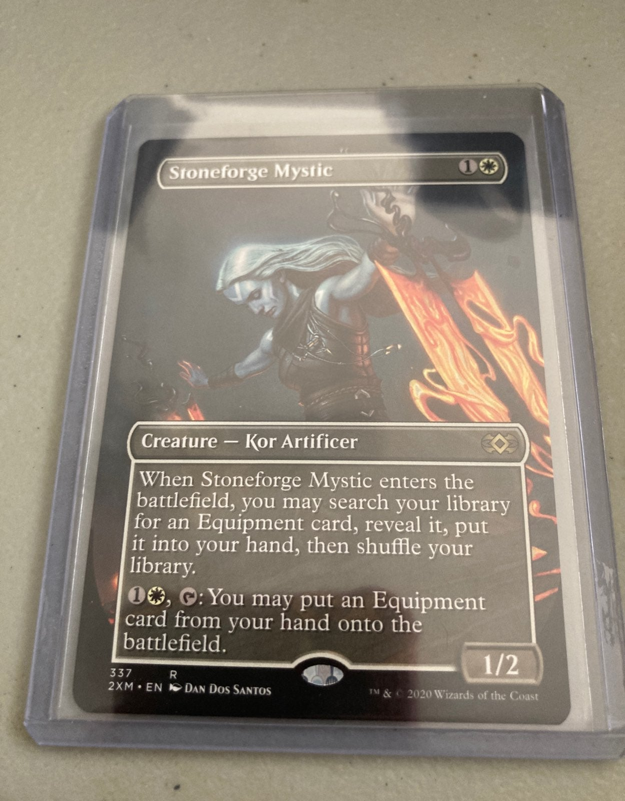 Stoneforge Mystic Borderless Art Card NM
