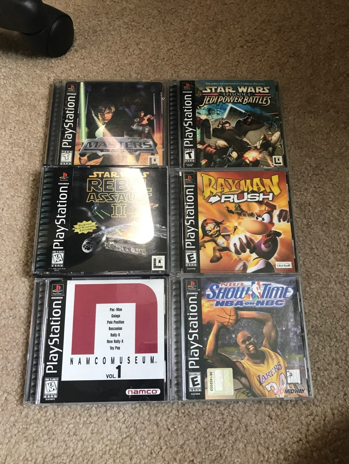 Sony Playstation 1 PS1 game lot