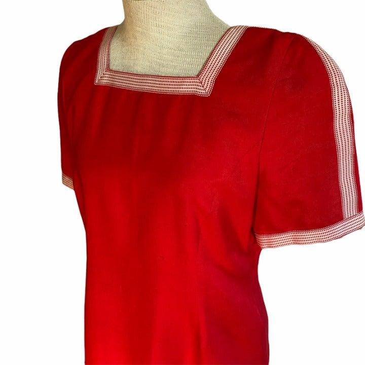 1980s CAROLINA HERRERA Nordstrom Dress M
