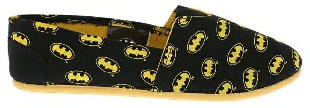 DC Comics Batman Slip-On Shoes MEDIUM