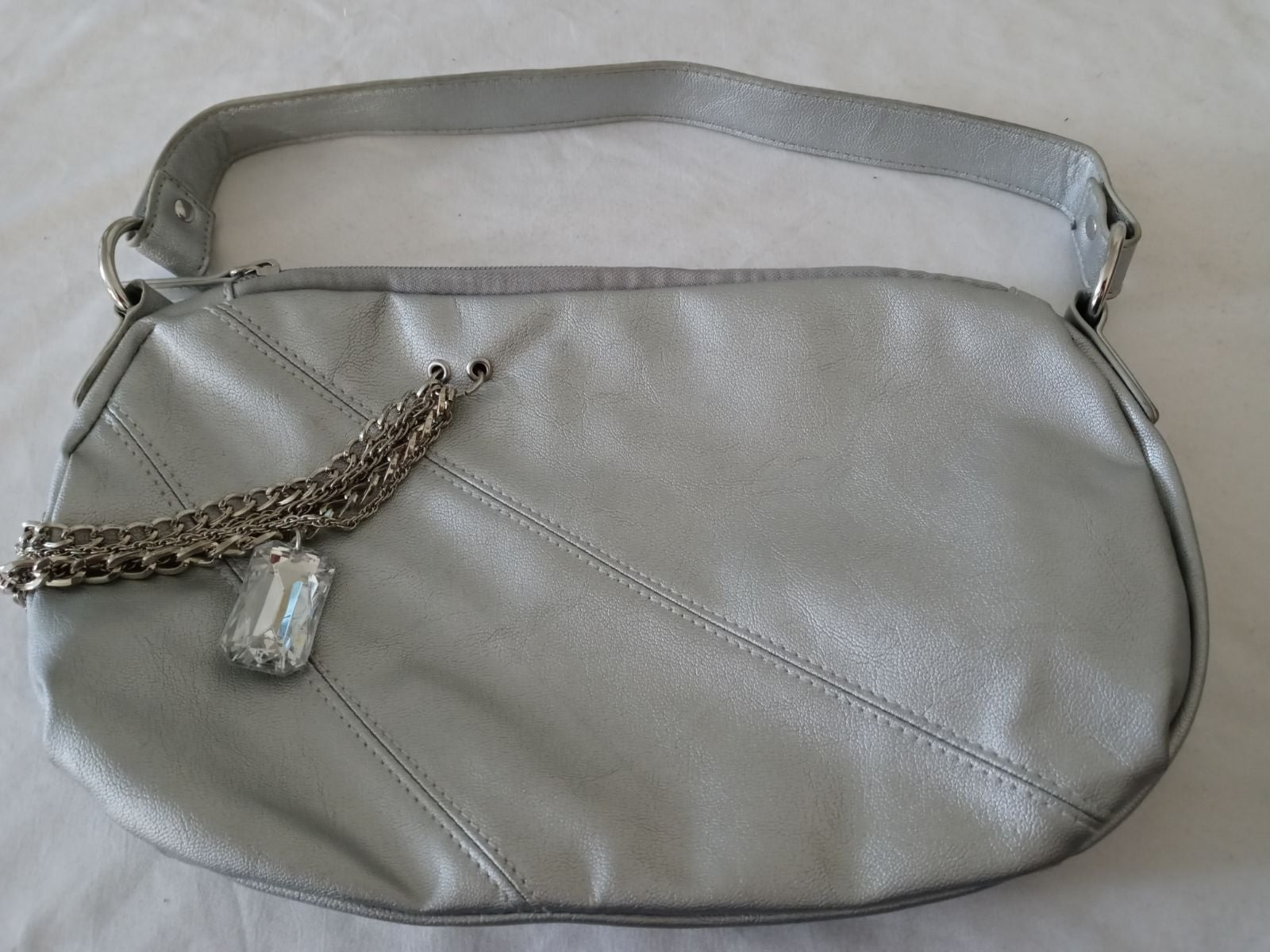 Candie's Silver Purse with pendant