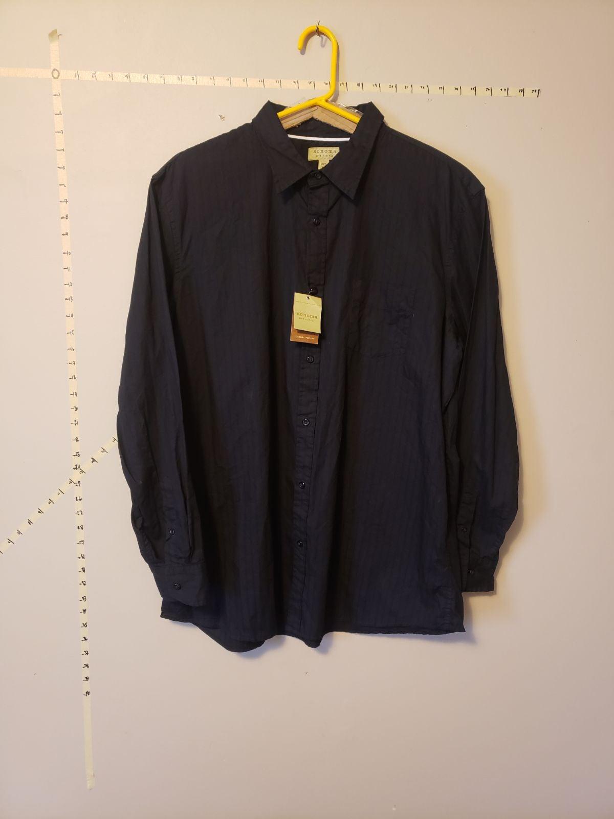 Sonoma Mens XL Buttun Up Shirt NWT's