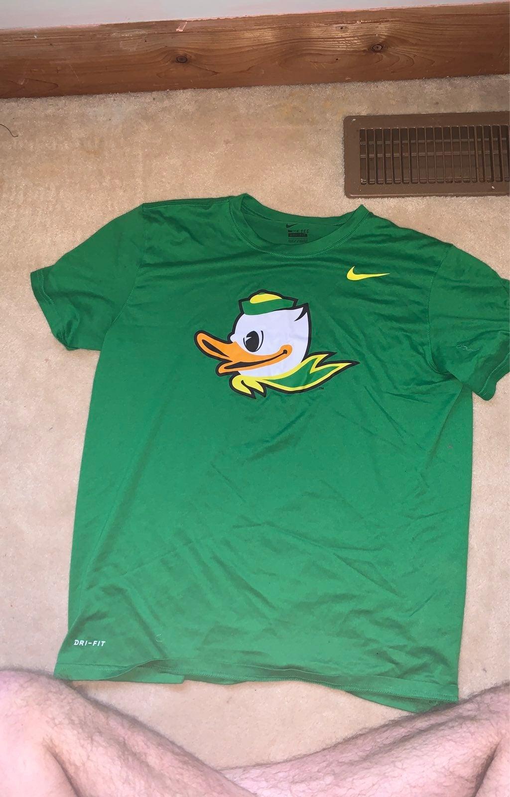 Nike Men Large Oregon Ducks Dri-Fit Shir