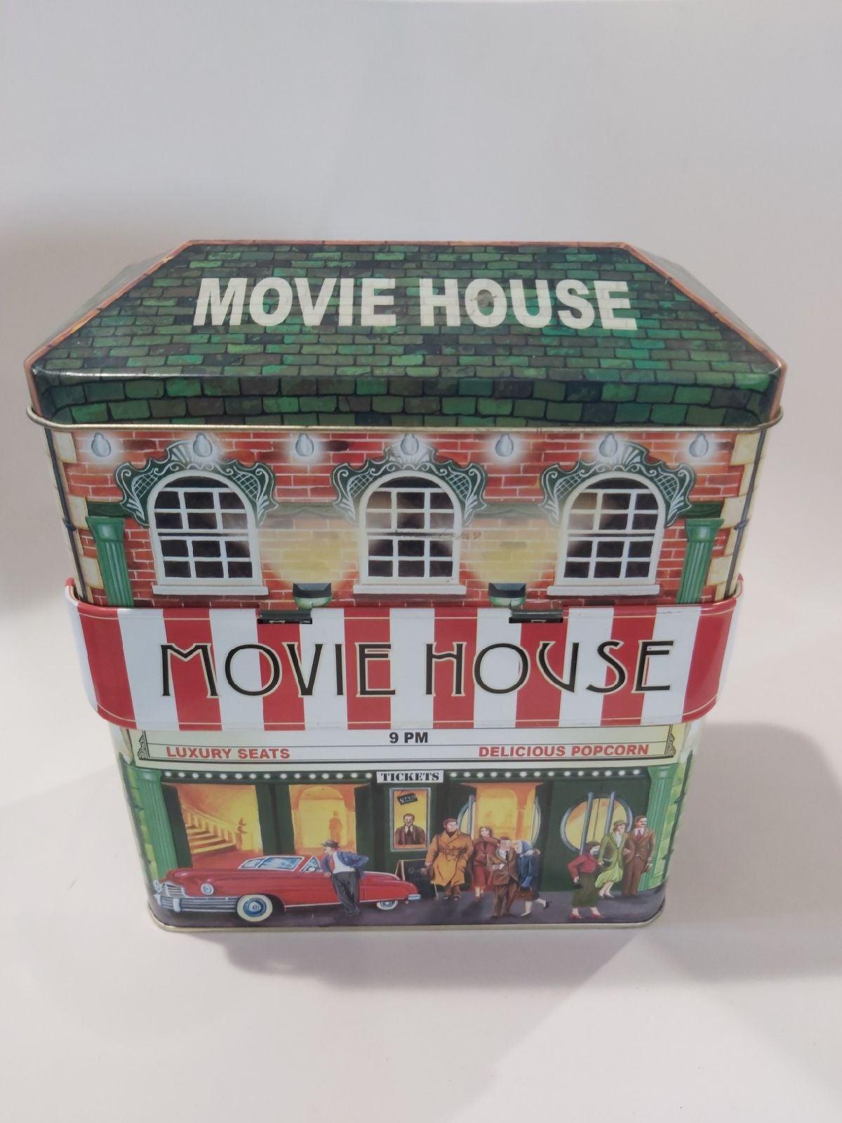 Movie House Metal Box