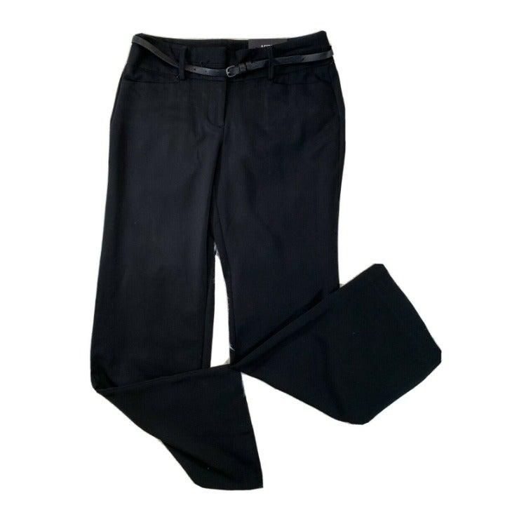 Apt. 9 Black Mid Rise Trouser Pant Sz 8