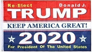 12 TRUMP 2020 Retractable Banner