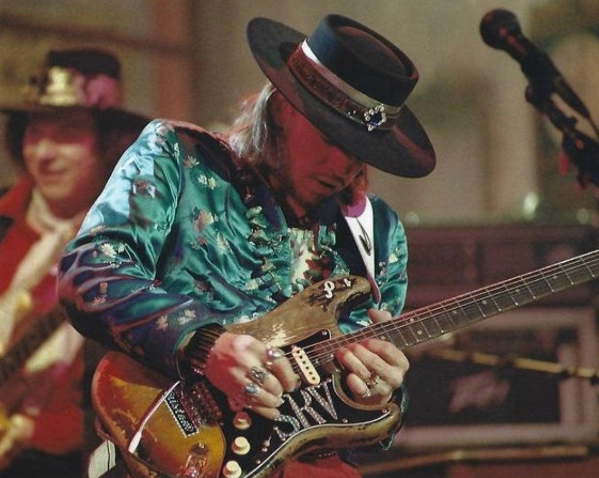Stevie Ray Vaughan Blues 8x10 Photo