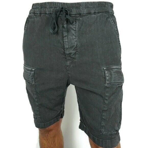 Vince Mens Linen Blend Cargo Shorts 2XL