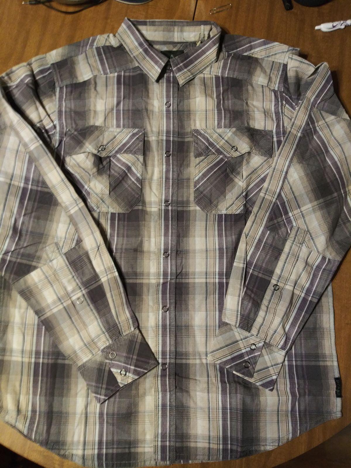 Prana Men's Button up Long Sleeve shirt