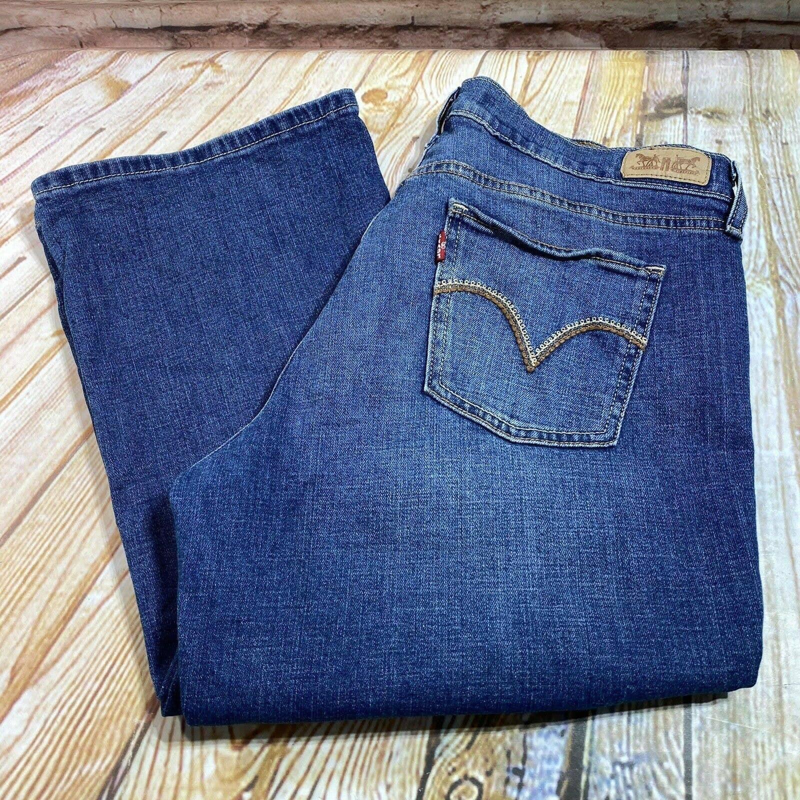 Levi's 515 Boot Cut Jeans Denim Pants