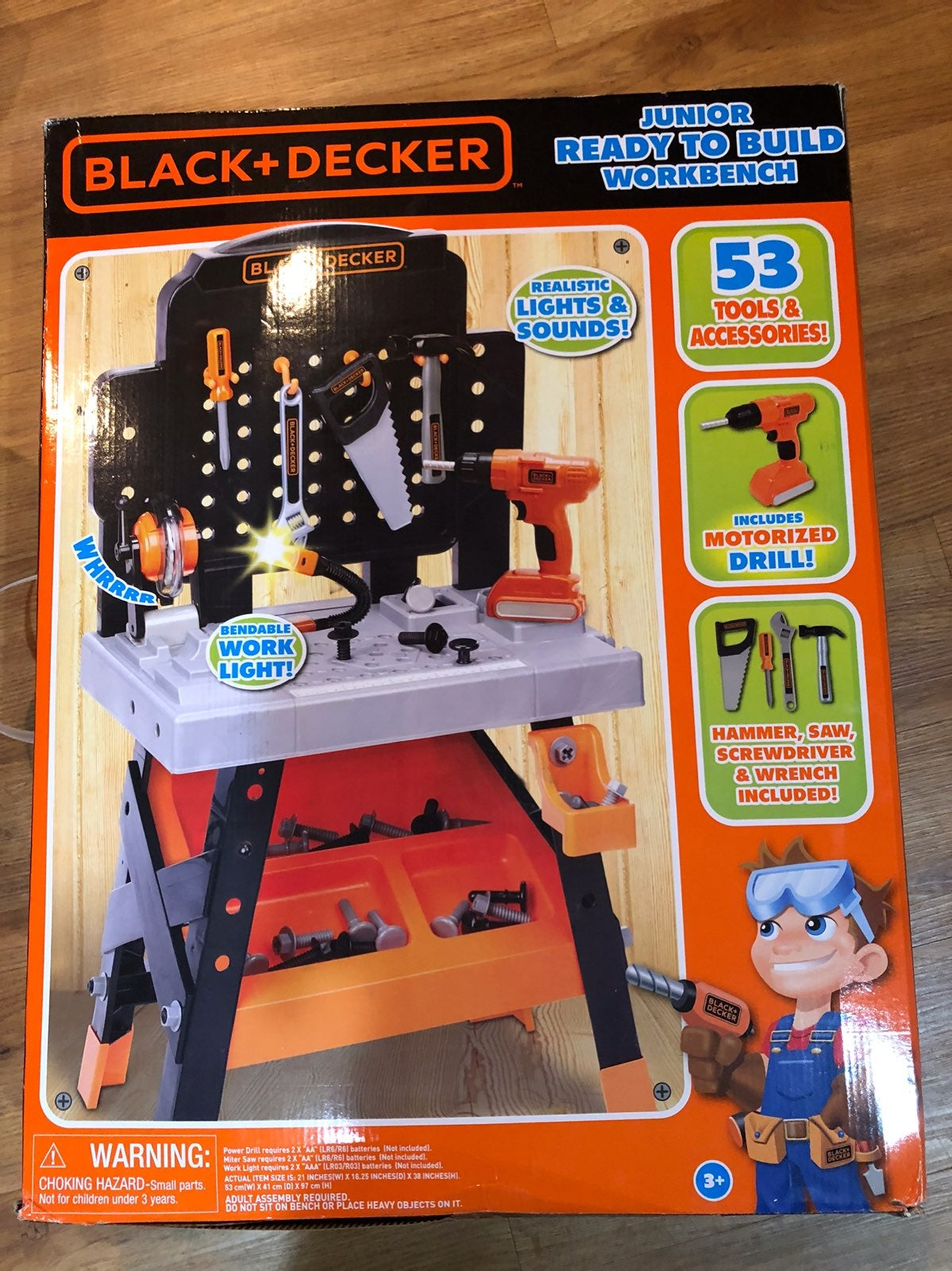 Black and Decker junior Ready to Build S