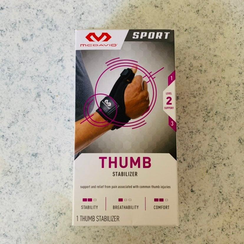 Mcdavid Thumb Stabilizer sport brace