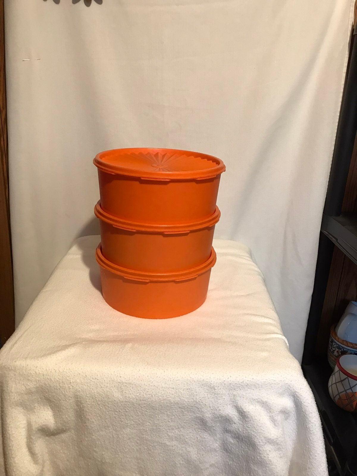 Set of Vintage Tupperware