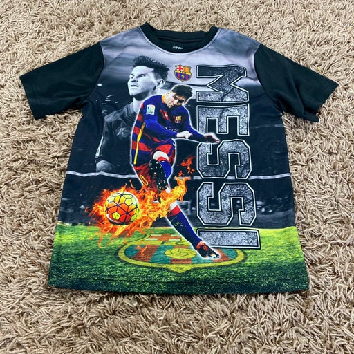 boys lionel messi soccer tee