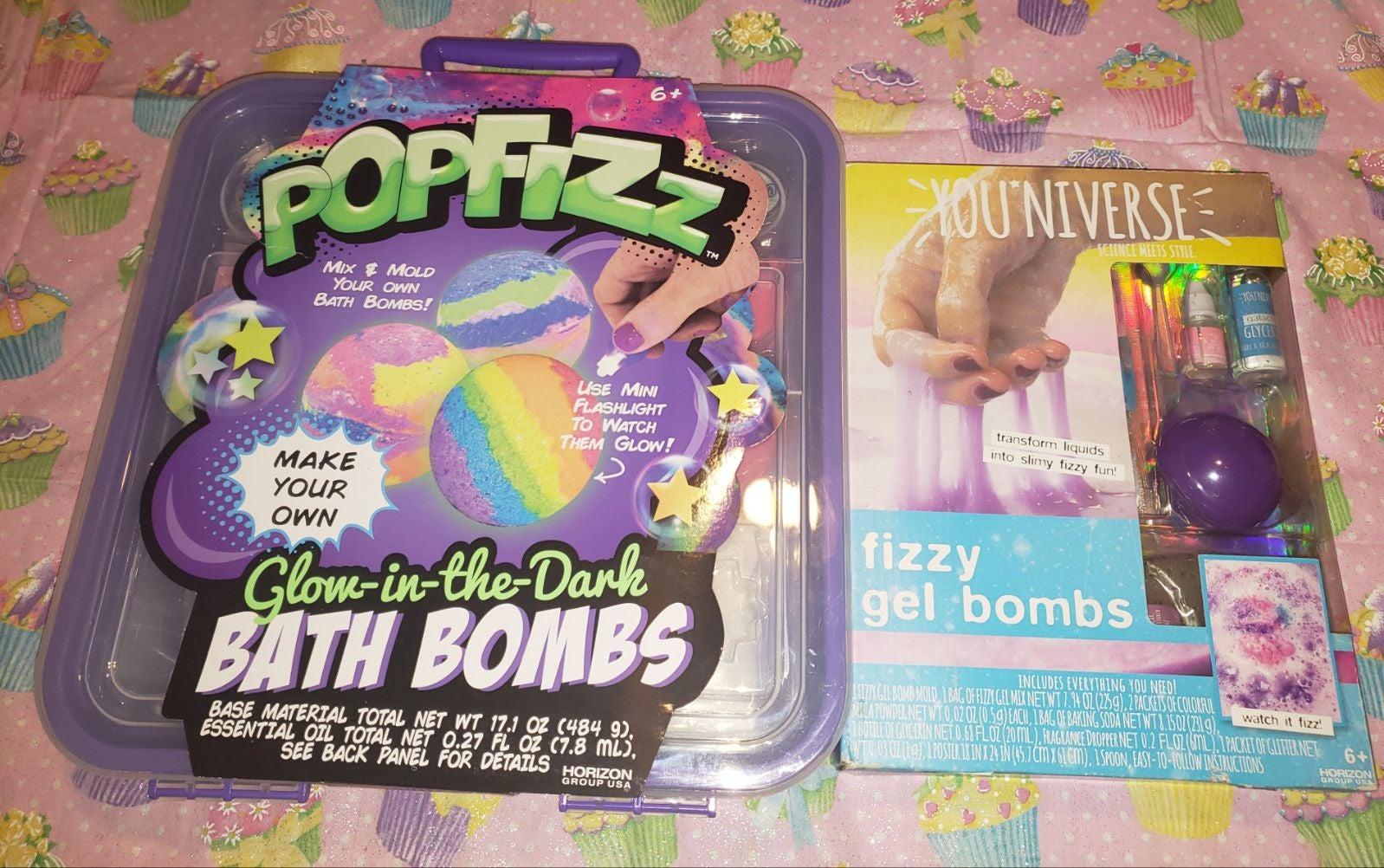 PopFizz & You*Niverse Bath Bombs