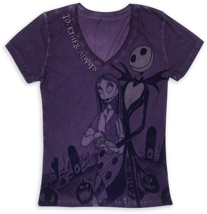 Disney Jack Skellington & Sally T-Shirt