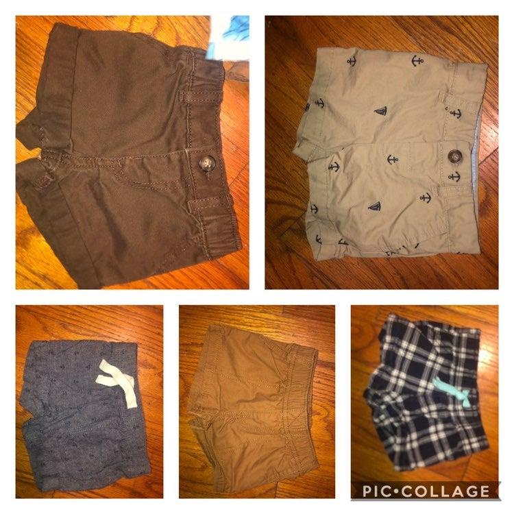 Carters 3 month shorts bundle