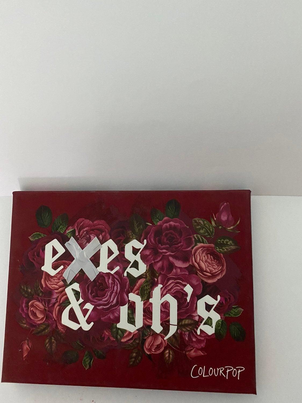 Colourpop Exes & Oh's Eyeshadow Palette