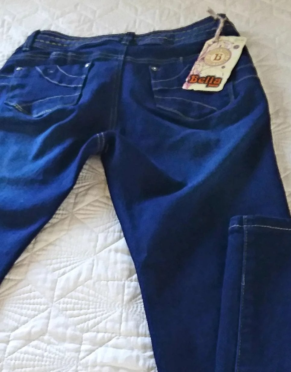BELLA Push up Jeans Size 7 waist 26-28 N