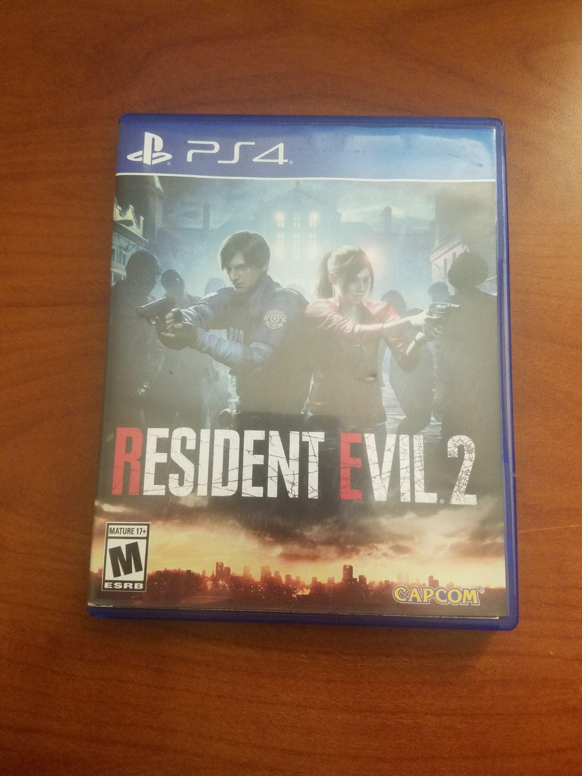 Resident Evil 2 (2019) on Playstation 4