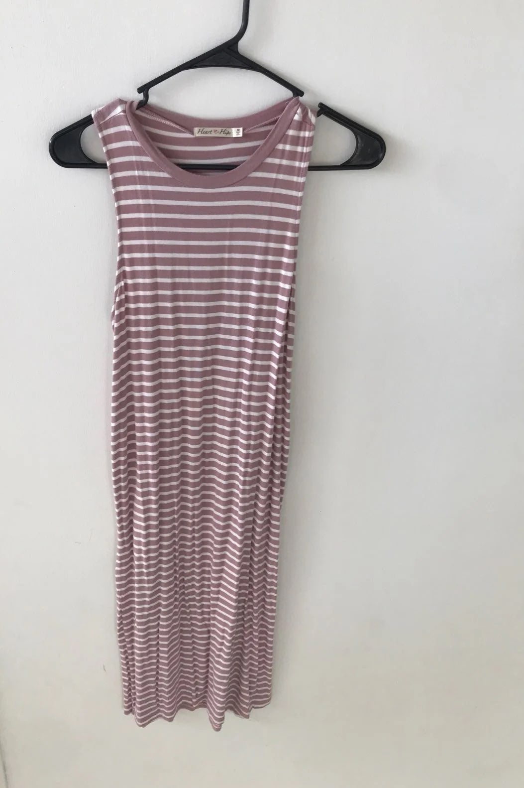 Heart & Hips Striped tunic dress M