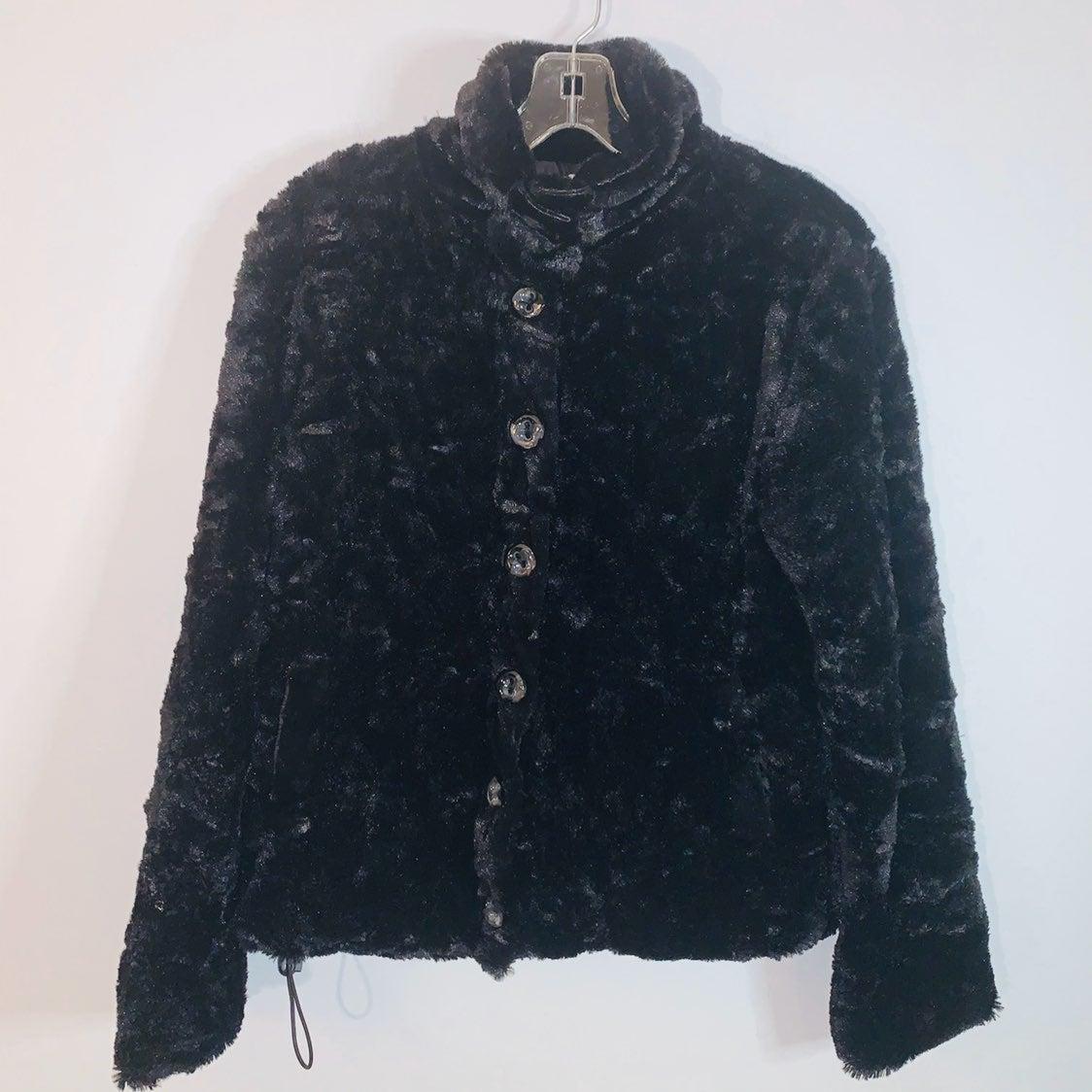 Carducci Medium black button up Jacket