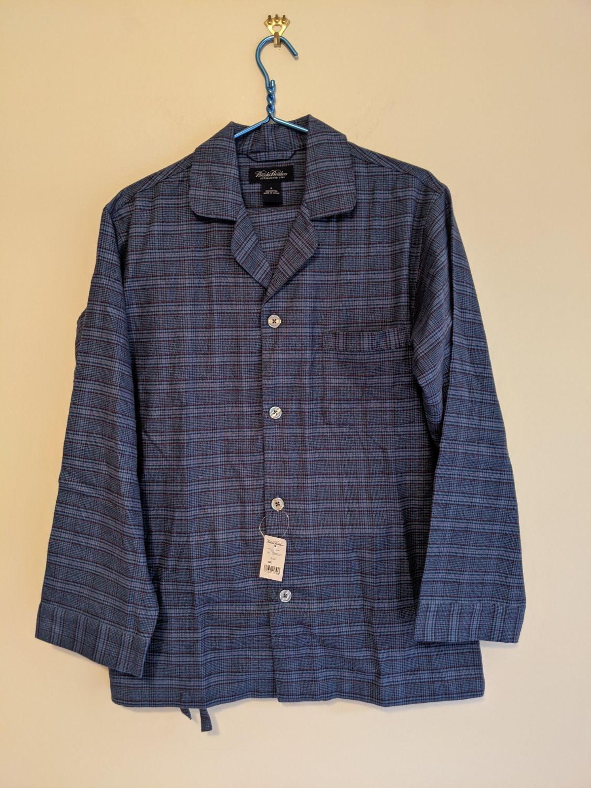Brooks brothers men's pajamas