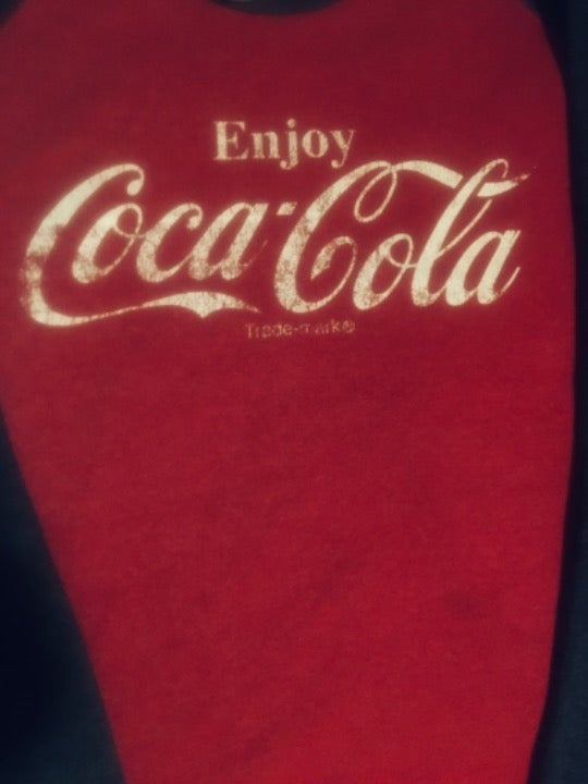 Coca Cola fleece sweatshirt