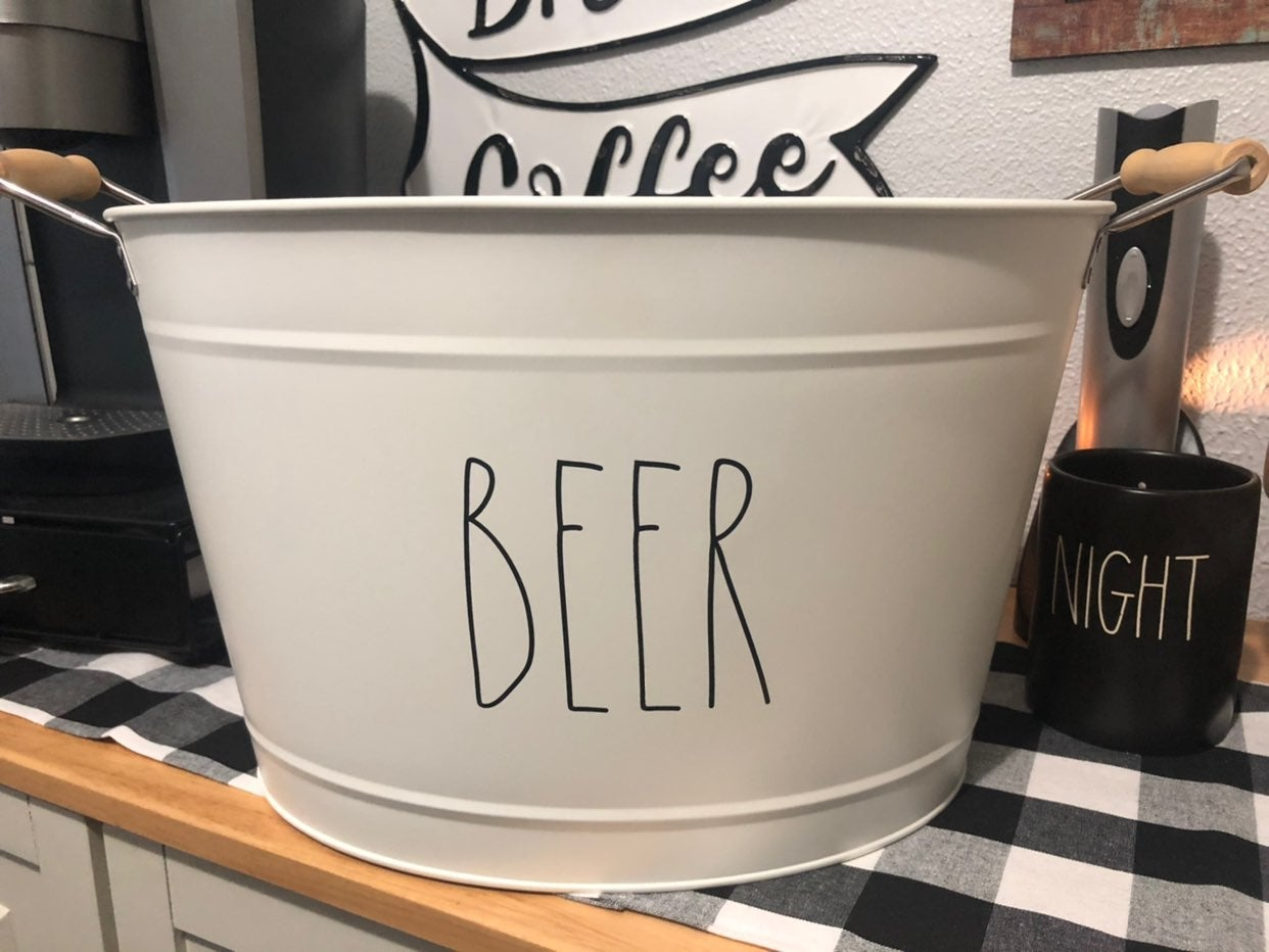 Rae Dunn Beer Tub