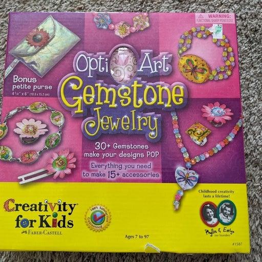Gemstone jewelry craft kit