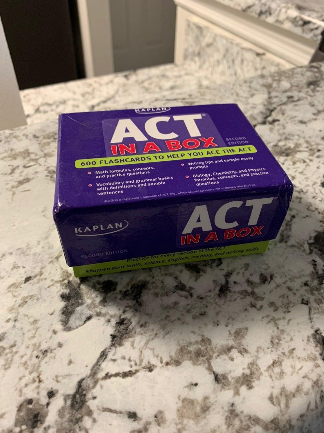 Kaplan ACT Prep Flashcards 2nd edition