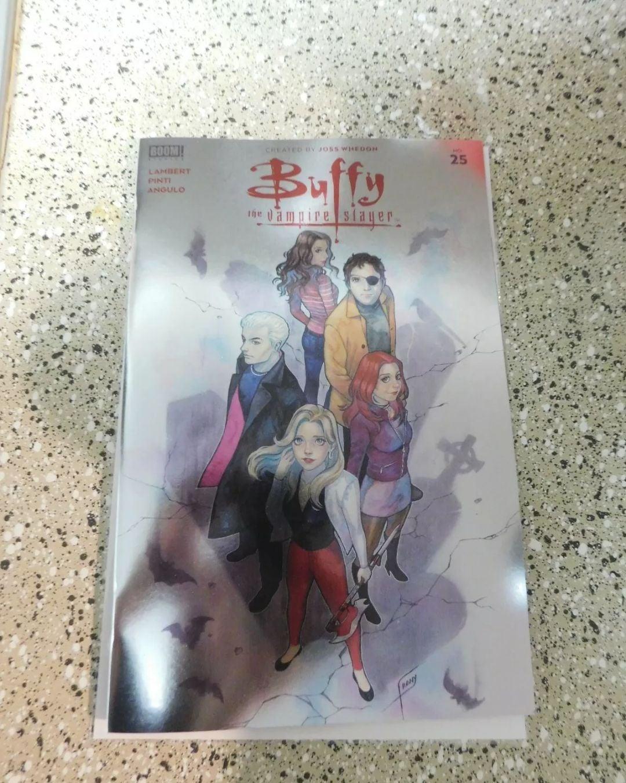 Buffy The Vampire Slayer comic book