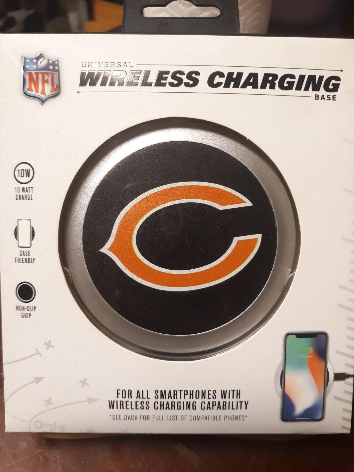 NFL Universal Wireless Charging Base