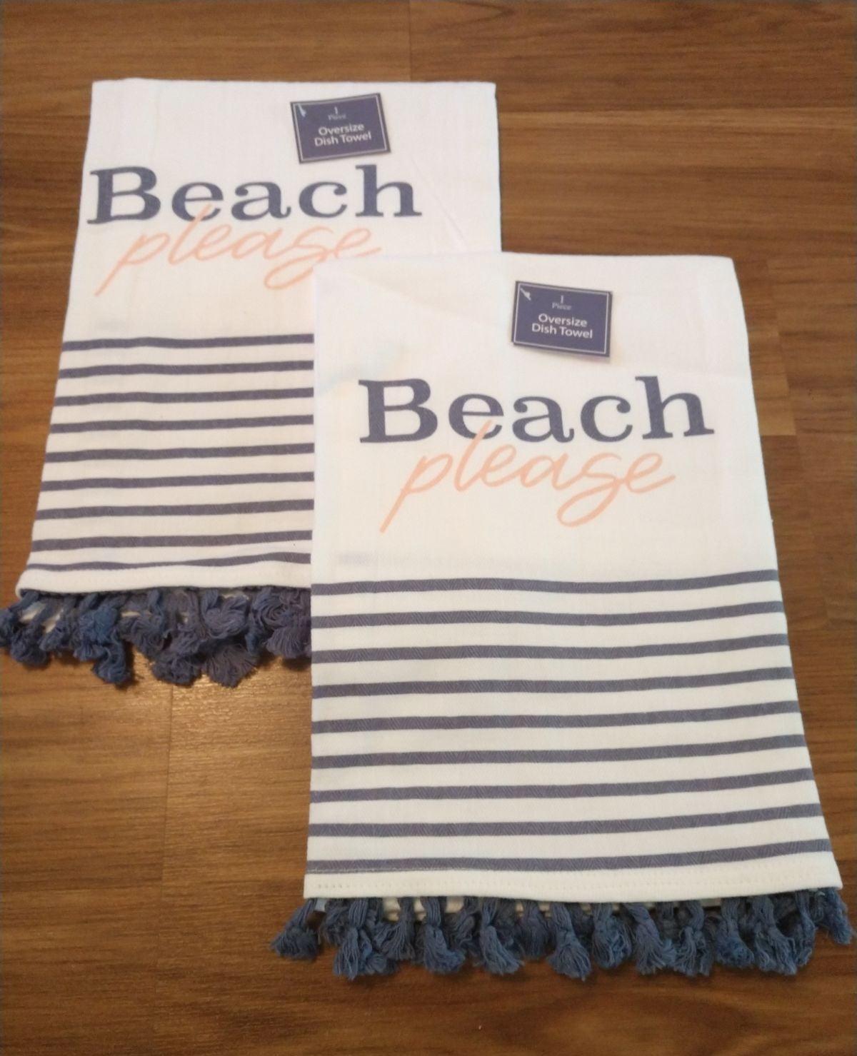 Quality Fringed Kitchen Towel Set