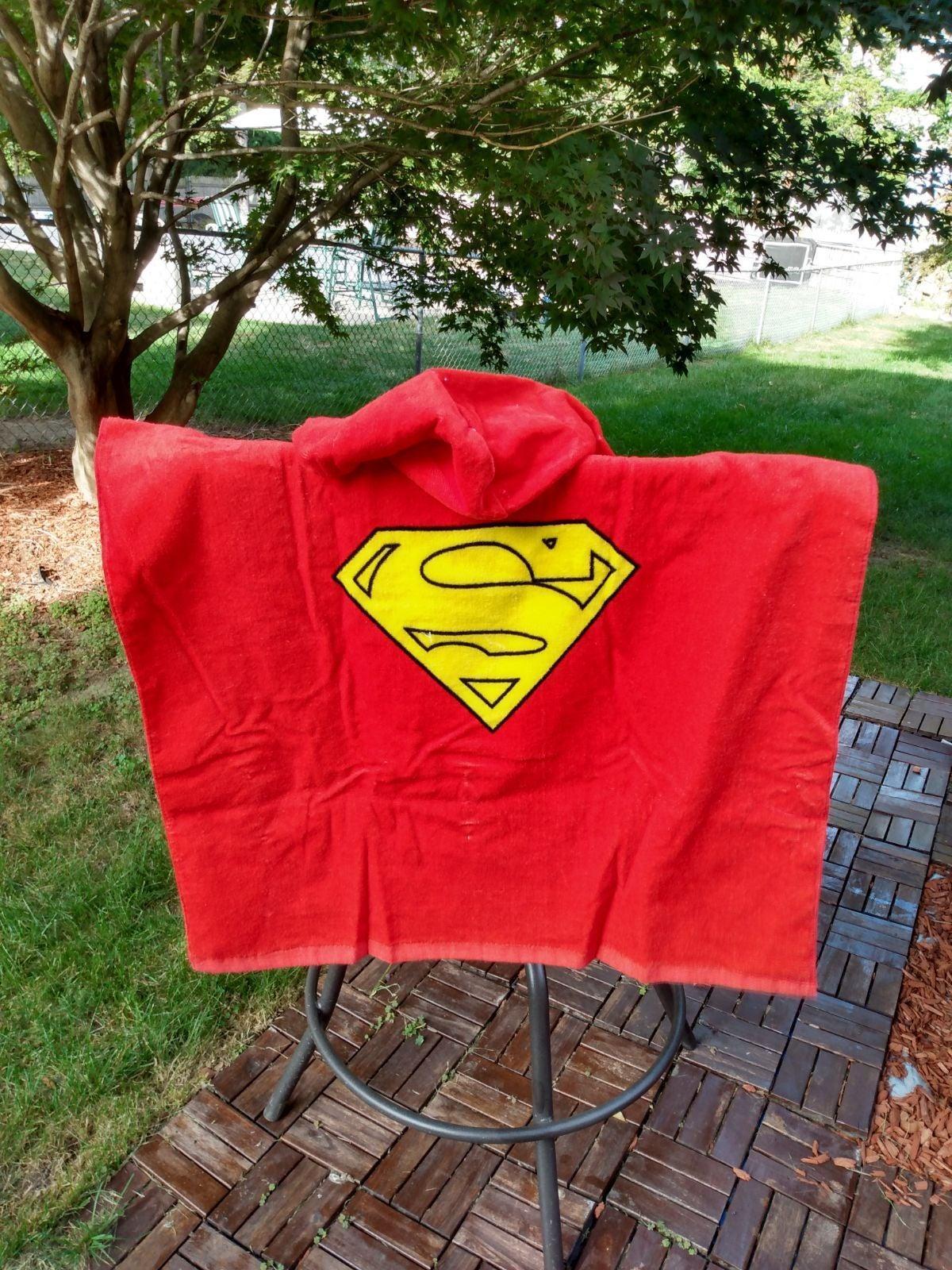 New Child's hooded towel Superman DC Com