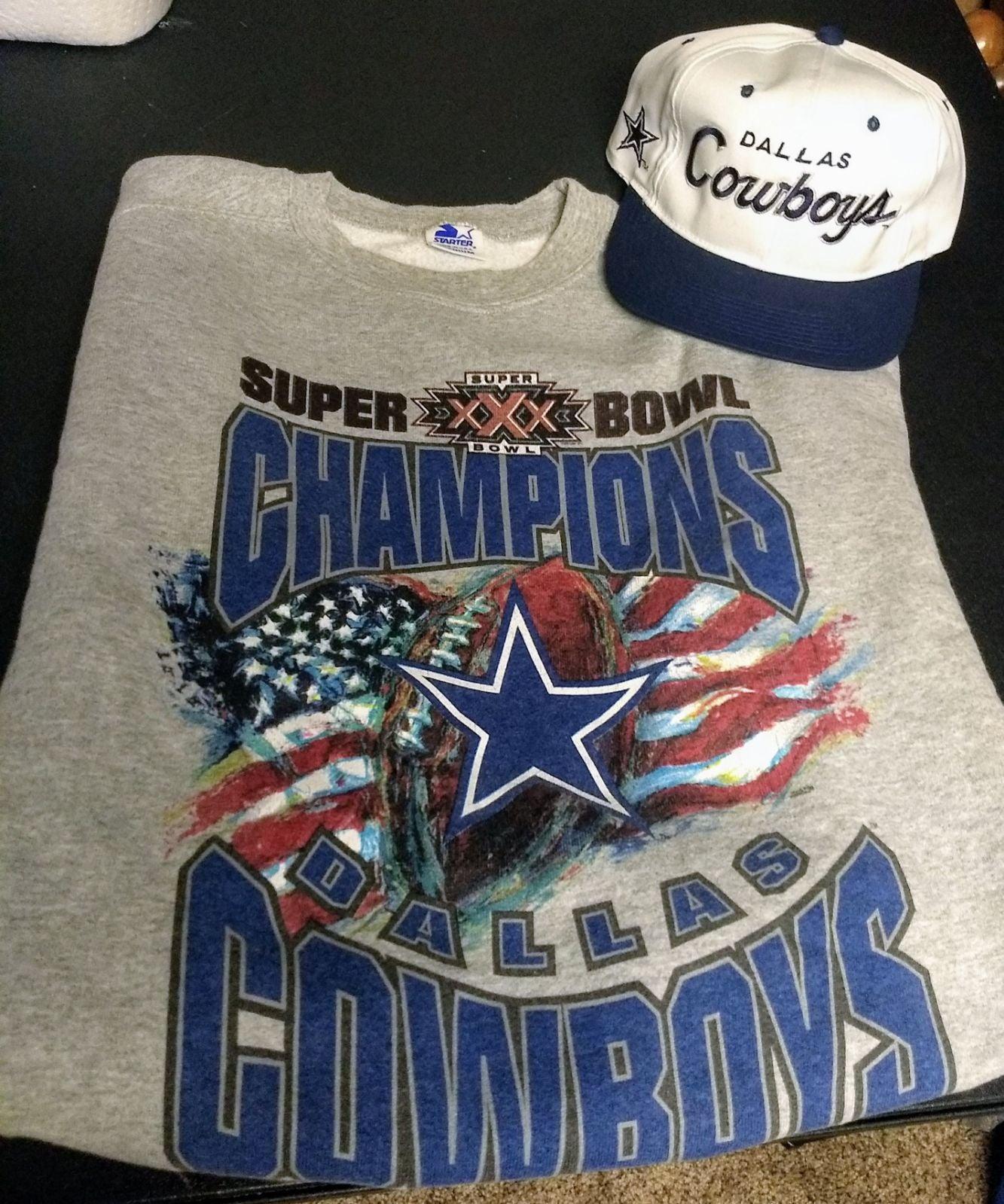 Vintage Dallas cowboys super bowl crew n