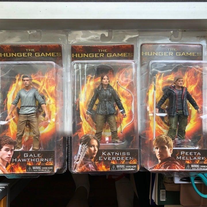 Hunger Games Action Figures! set of 3