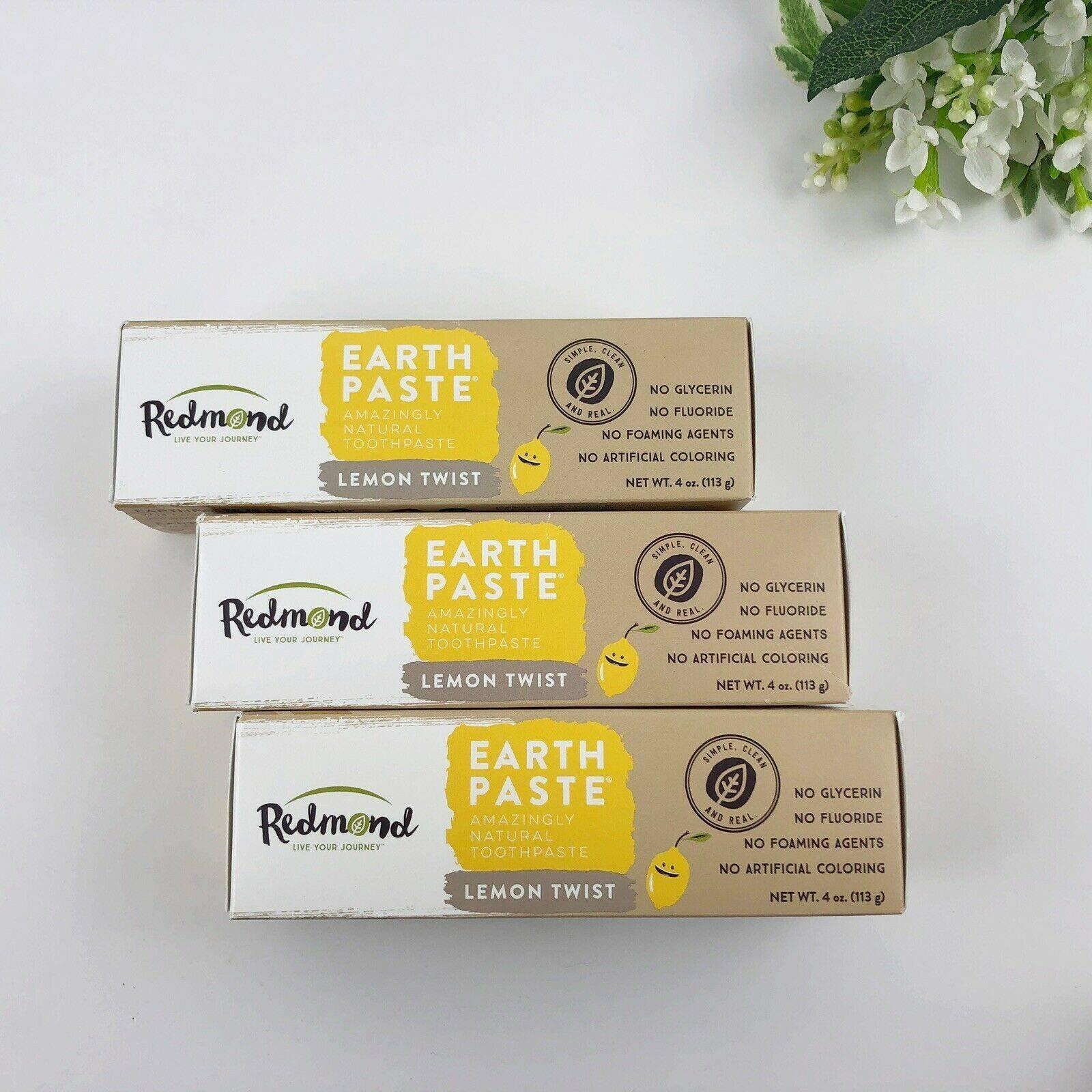 3Pack Earthpaste Toothpaste Lemon Twist