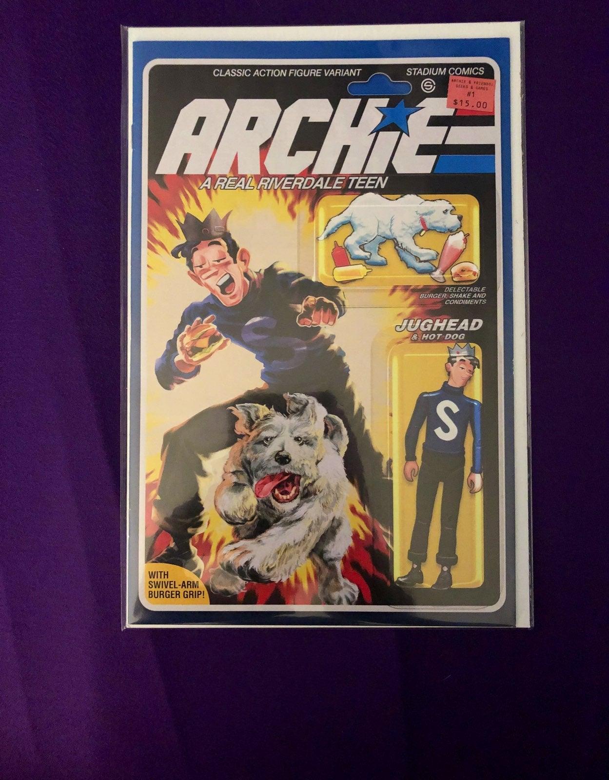 ARCHIE & FRIENDS #1 GI JOE Figure Homage