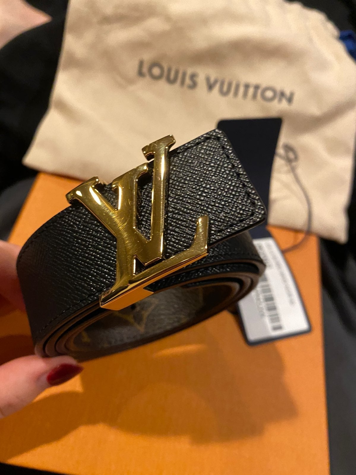 Louis Vuitton Belt Women Reversible