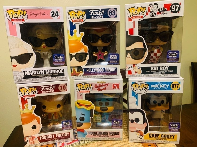 Funko Pop Lot Hollywood Exclusive Limite